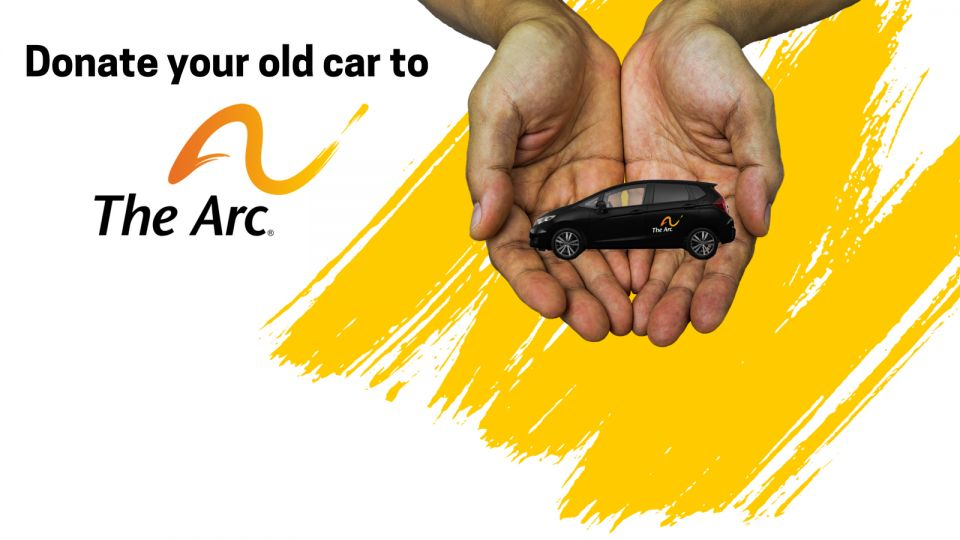Donate your car to The Arc