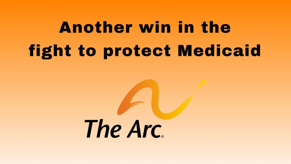 Another win in the fight to protect medicaid