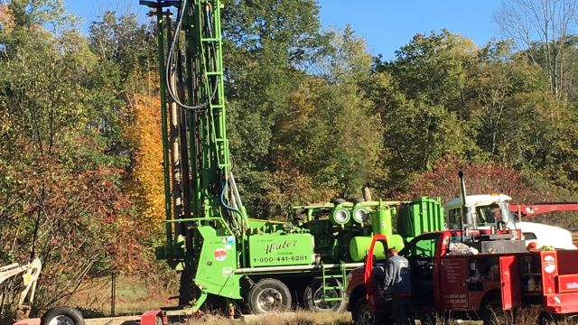 Hubbardston well drilling wide view.