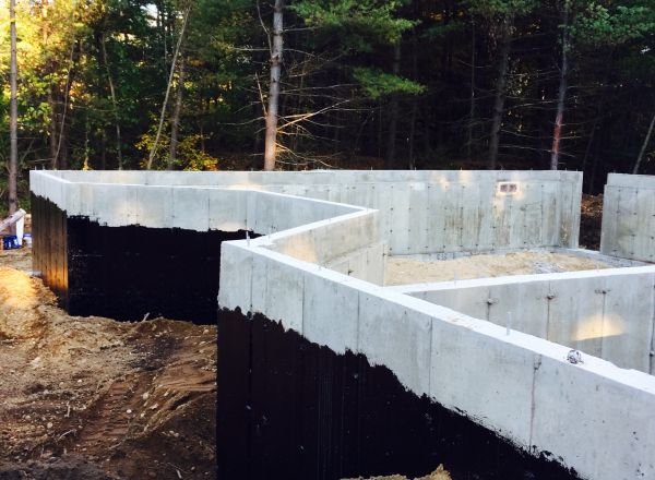 Foundation complete and backfilled