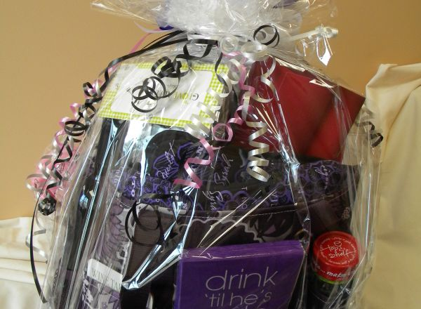 Born to be Fabulous Diva Basket donated by Judy Driscoll