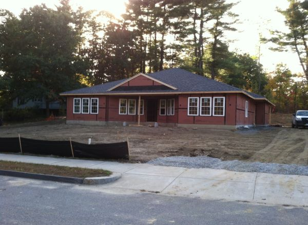 Can you believe how this house is moving along!