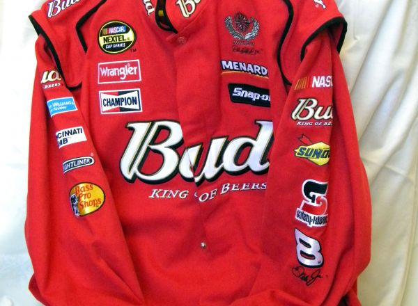 Nascar Jacket donated by an anonymous donor