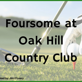 Foursome at Oak Hill Country Club