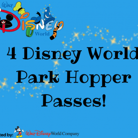 Disney World Park Hopper Passes