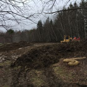 Clearing Topsoil