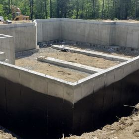 Foundation Completed and Sealed