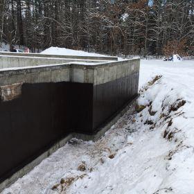 Foundation walls waterproofed (2).