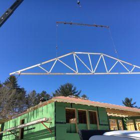 Roof truss installation 2