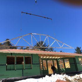 Roof truss installation 3