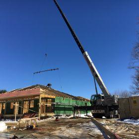 Roof truss installation 4